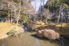 Shoyoen-Garten Edo-Art in Rinnoji-Tempel in Nikko, Japan Lizenzfreies Stockbild