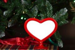 Shped сердцем картинная рамка Стоковые Фотографии RF