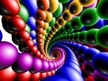 shperes 3d Стоковое Изображение