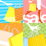 Shpping sale Stock Photos