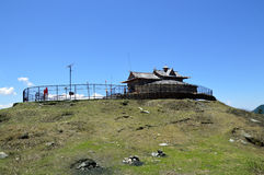 Shrai Koti Durga Mata Temple. On the top of Daranghati peak is a heavenly place, Rampur Bhushar, Shimla, Himachal, India, Asia Stock Photography
