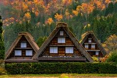 Shrakawago in Japan stock image