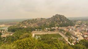 Shravanabelagola Town, Karnataka, India stock photos