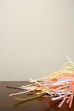 Shredded бумага на столе Стоковые Фотографии RF
