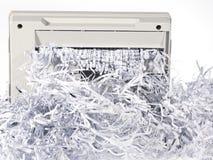 shredded бумага Стоковые Фото