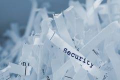 shredded бумага Стоковое фото RF