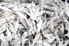 shredded бумага 2 Стоковые Фото