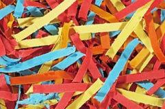 shredded бумага Стоковые Изображения