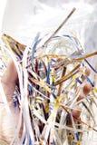 shredded бумага Стоковая Фотография