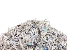 shredded бумаги стоковое изображение rf