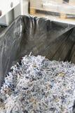 shredded бумаги Стоковое Фото