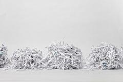 2 Shredded бумажных куба Стоковое Изображение RF