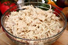 shredded цыпленок Стоковое Изображение