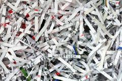shredded документ предпосылки Стоковые Изображения