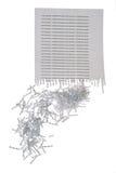 shredded документ Стоковые Изображения RF