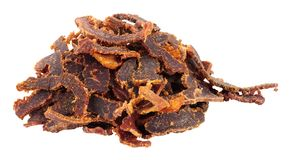 Shredded Biltong Dried Meat Stock Photography