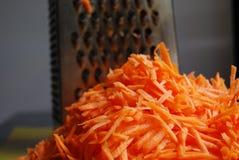 Shredded carrots Royalty Free Stock Image