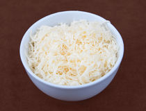 Shredded cheese Stock Photography