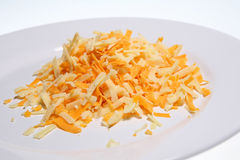 Shredded Cheese Stock Image