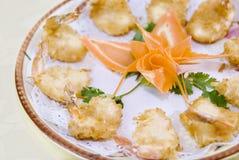 Shredded coconut Shrimp stock photos