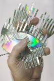 Shredded disk Stock Photo