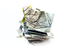 Shredded document Royalty Free Stock Image