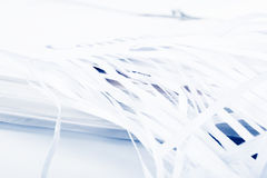 Shredded document Royalty Free Stock Photography