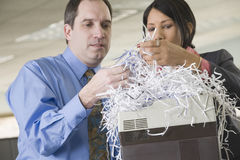 Shredded documents Royalty Free Stock Photography