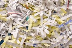 Shredded documents Stock Photography