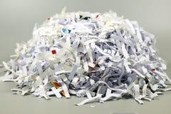 Shredded documents Stock Photos