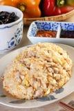 Shredded meat-fried rice Stock Photos
