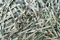 Shredded Money #2 Royalty Free Stock Photography