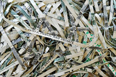 Shredded Money #4 Stock Photo