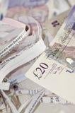 Shredded money Stock Image