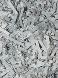 Shredded Office Paper Texture Stock Photo