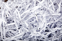 Shredded Papaer Background Royalty Free Stock Photography