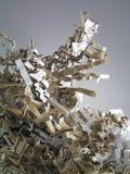 Shredded paper Royalty Free Stock Photo