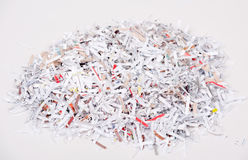 Shredded Paper Stock Image