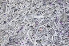 Shredded paper as a background Royalty Free Stock Image