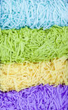 Shredded paper background. Layers of shredded paper vertical background Stock Image
