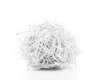 Shredded Paper Ball Royalty Free Stock Photos