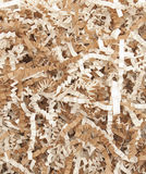 Shredded paper crinkle cut texture Royalty Free Stock Photos