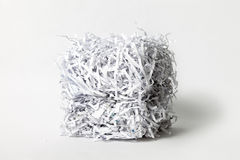 Shredded Paper Cube Stock Photos