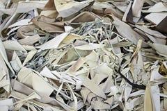 Shredded paper cut Royalty Free Stock Photos
