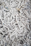 Shredded Paper Documents Stock Image