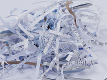 Shredded Paper. Image of some shredded paper Royalty Free Stock Image