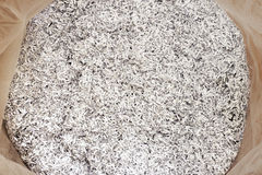 Shredded paper Royalty Free Stock Photography