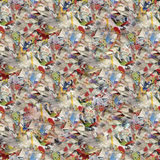 Shredded Paper Seamless. Wallpaper Pattern Royalty Free Stock Photos