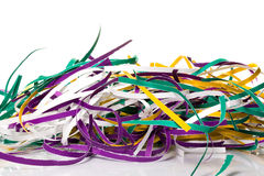 Shredded paper strips Royalty Free Stock Images