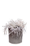 Shredded paper in trash can Royalty Free Stock Images